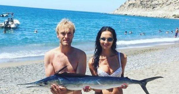 Eliška Bučková vyrazila na dovolenou se svým partnerem Jakubem Vágnerem.