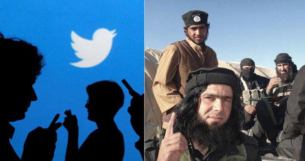 Twitter blokuje účty fanouškům teroristů. Od února jich stopl přes 200 tisíc