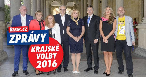Debata Blesk.cz s kandidáty na nového hejtmana Karlovarského kraje