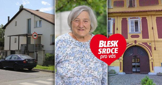 Mentálně postižení se přestěhovali z neútulné ústavní budovy do rodinného domku. Danuše Žižlavská je v novém domově šťastná.