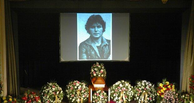 Pohřeb Pavla Nováka