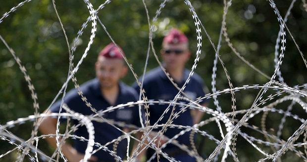 Maďaři opevňují před migranty hranice. K žiletkovému plotu přidají další
