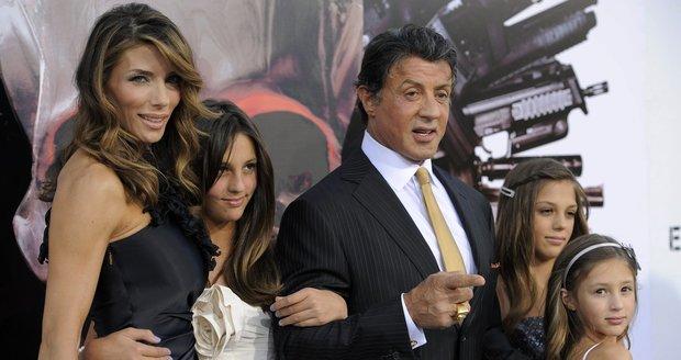 Sylvester Stallone je prý velice ochranářský otec.