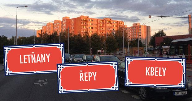 Známe původ názvů městských částí Prahy 16 až 20, mimo jiné Letňan nebo Řep.