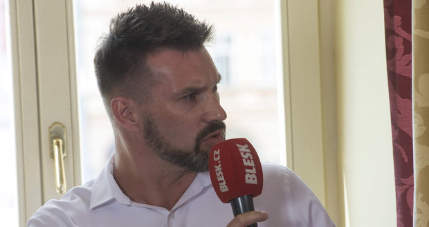 Petr Švec (STAN) při debatě v Českých Budějovicích