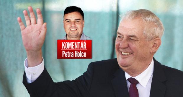 Komentář: Miloš Zeman nechce volební kampaň. Je to zatím jeho nejlepší bonmot