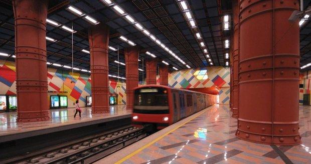 Stanice Olaias v portugalském Lisabonu