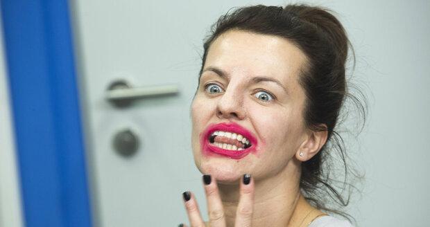 Marta Jandová jako Alice Cooper!