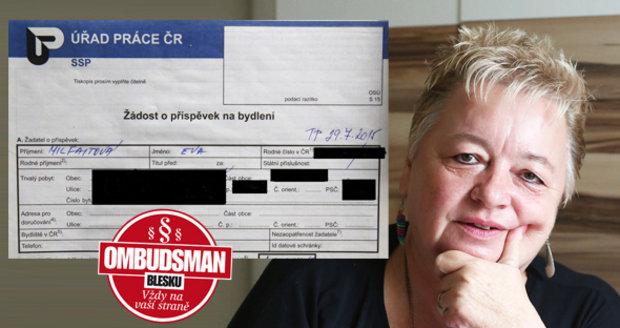 Eva (59): Kdo mi pomůže zaplatit nájem?