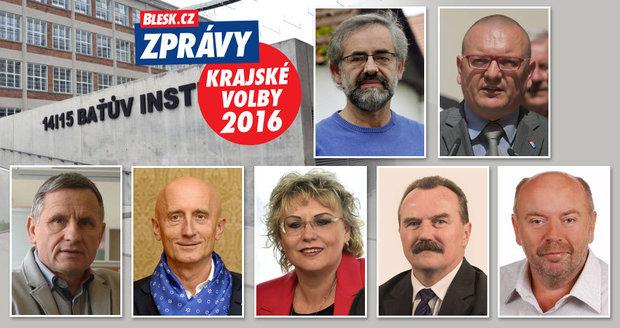Sedmička kandidátů se střetne v debatě Blesku ke krajským volbám ve Zlíně.