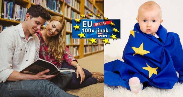 Evropské výjezdy za studiem okořenil sex. Erasmus pomohl na svět milionu miminek