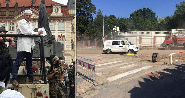 Konvička považuje havárii vody za naschvál. Akci k 11. září uspořádá