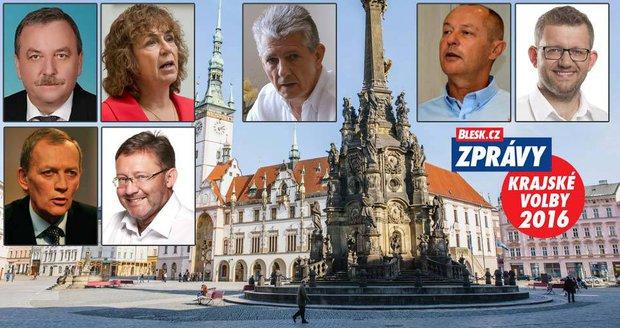 Kandidáti na hejtmana Olomouckého kraje ve volbách 2016