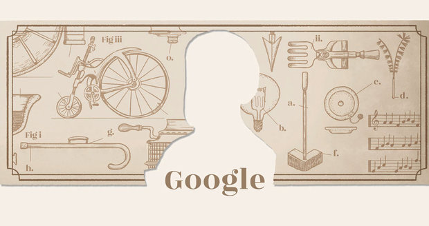 Jára Cimrman, největší vynálezce Česka, se zrodil před 50 lety. Google mu připravil Doodle