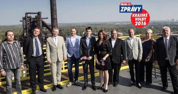 Do dalšího dílu debaty Blesku přišli lídři kandidátek v Moravskoslezském kraji.