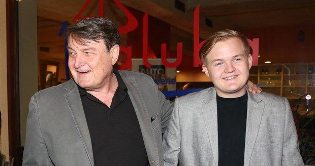 Artur Štaidl s otcem Ladislav Štaidlem