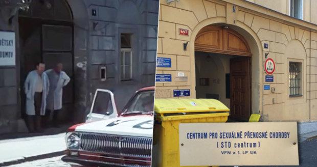Ve filmu Což takhle dát si špenát je v budově dětský domov, ve skutečnosti se zde nachází Centrum pro sexuálně přenosné choroby.