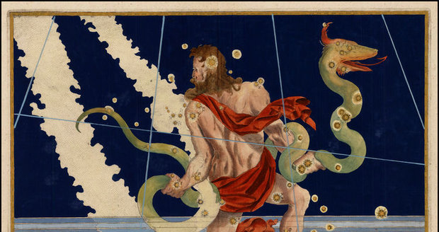 Hadonoš vtrhl mezi znamení zvěrokruhu.