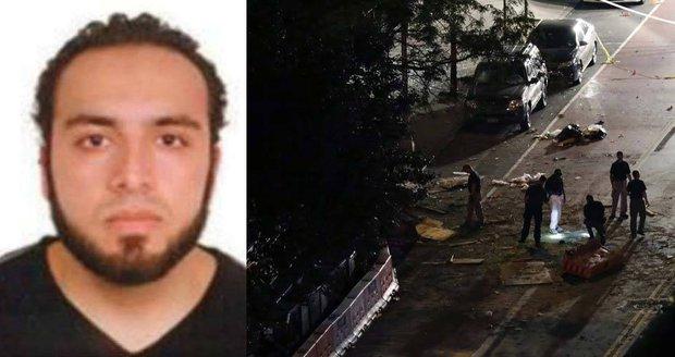 To je tvář teroristy, který chtěl zabíjet na Manhattanu. Bombou zranil 29 lidí