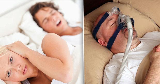 Trpíte syndromem spánkové apnoe?