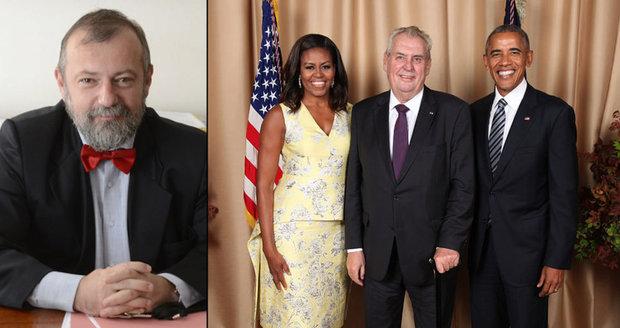 Kmoníček novým velvyslancem v USA. A Zeman blahopřál Michelle Obamové k manželovi