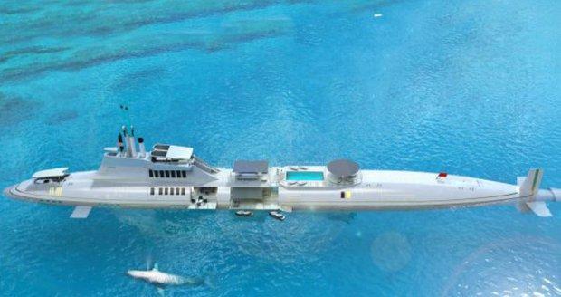 Superjachty jsou pro žabaře! Miliardáři si brousí zuby na luxusní ponorky