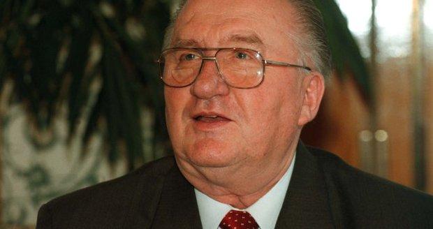 Zemřel slovenský exprezident. Kováčovi selhalo srdce