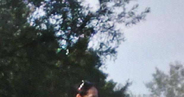 Hana Gregorová si užívala sluníčka.
