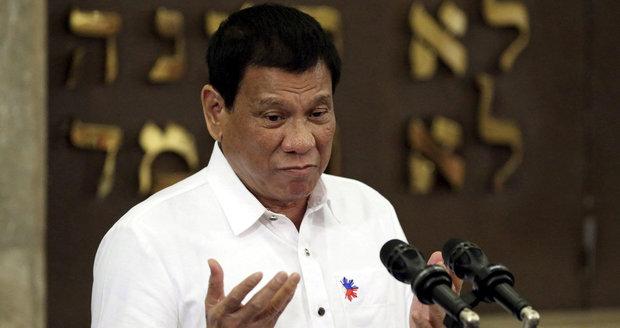 """Po zku*vysynovi další urážky: """"Obamo, běž k čertu,"""" dupl si filipínský prezident"""