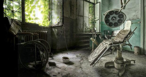 Tajemné a děsivé: Opuštěné a chátrající nemocnice v Evropě