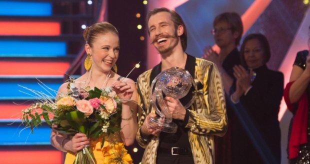 Marie Doležalová s partnerem Markem Zelinkou