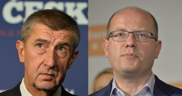 Měnit ministry je nesmysl, vzkazuje Sobotkovi Babiš. ANO vadí hlavně Dienstbier