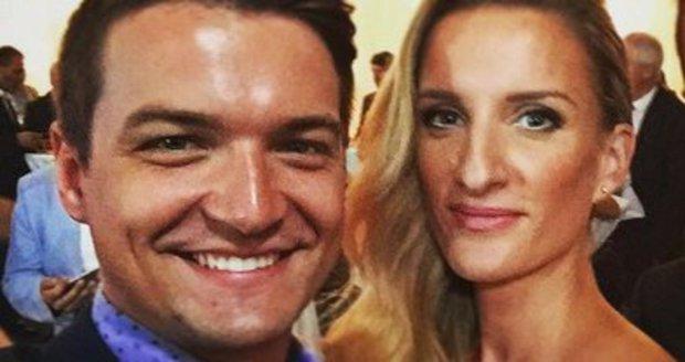 Adela s Viktorem před měsícem na oslavě 20 let TV Markíza