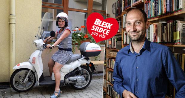 Ředitel Marek Uhlíř pracuje v organizaci Cesta domů už čtvrtým rokem.