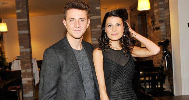 Jakub Štáfek s přítelkyní Monikou Timkovou