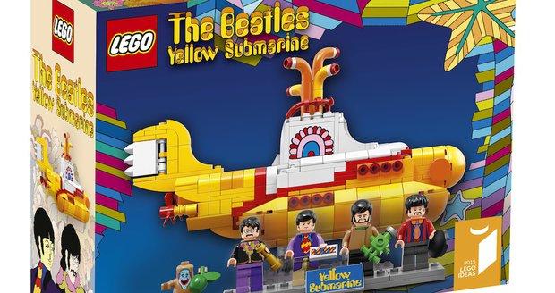 Lego má první muzikanty: Beatles i s jejich žlutou ponorkou