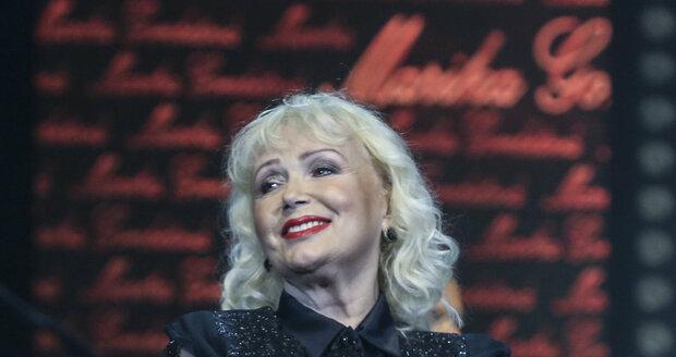 2016: Marika Gombitová na koncertu k šedesátinám