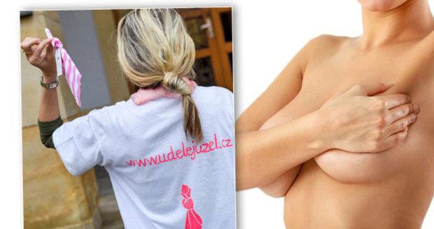 Rakovina prsu je jedním z největších strašáků žen. Včasné vyšetření je důležité.