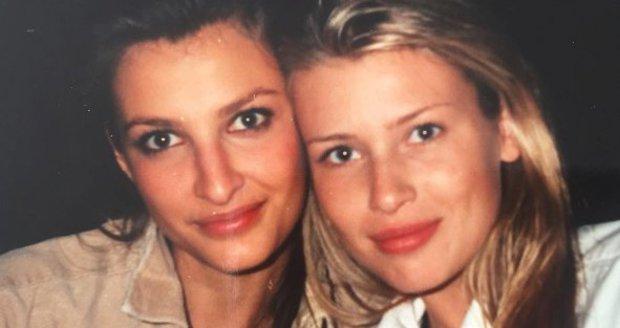 Tereza Maxová s Danielou Peštovou.