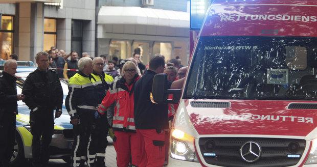 Střelba v západním Německu: Muž začal pálit po lidech v kadeřnictví