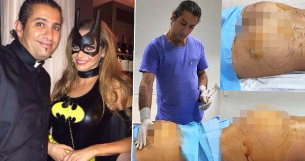 Zvrhlý chirurg se fotil s pacientkami v narkóze: Zveřejnil i snímek s Verešovou. Ponížil stovky žen
