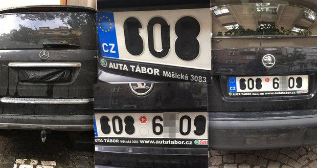 Těmito triky si řidiči zajistí, že monitorovací auto, které hledá neplatiče, jejich značku nerozpozná.
