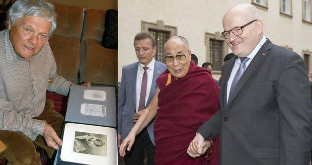 Ultimátum Hermanovi prý přímo od Zemana: Buď dalajláma, nebo vyznamenání strýce