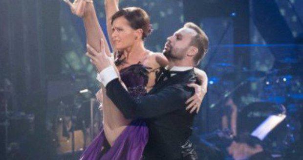 Olga si se svým tanečním partnerem Markem Dědíkem skvěle sedla.