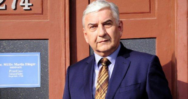 Miroslav Donutil jako doktor Martin