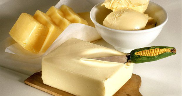 Test Blesku - margarin