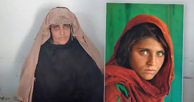 Světoznámá Afghánka se zelenýma očima byla zatčena. Hrozí jí 14 let vězení