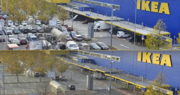Obchody o státním svátku poprvé zavřely své brány: Z parkovišť se stala »města duchů«!