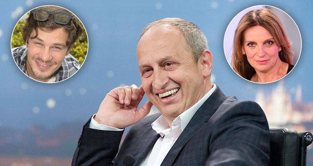 Ve své televizní show Jan Kraus zaměstnává snad celou svoji rodinu.