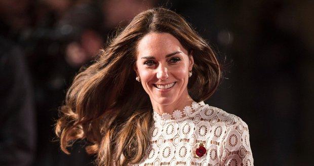 Vévodkyně Kate projevila ohromné gesto.